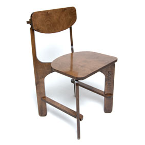 Unlocked C2 plywood chair