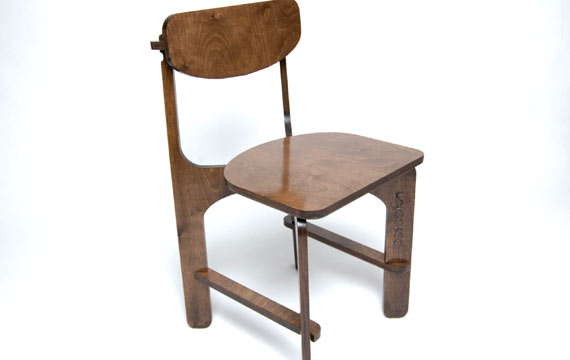 Unlocked C2 birch plywood chair main