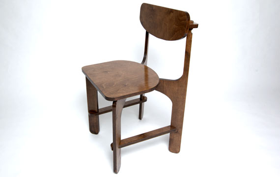 Unlocked C2 birch plywood chair